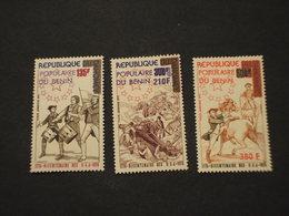 BENIN - P.A. 1976 INDIPENDENZA/PITTURE  3 VALORI - NUOVI(++) - Benin – Dahomey (1960-...)