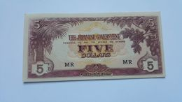 GIAPPONE 5 DOLLARS 1942 - Giappone