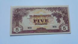 GIAPPONE 5 DOLLARS 1942 - Japan