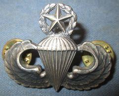 """Master Parachutist Badge"" US C.1950/60 - Insignes & Rubans"