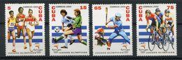 Cuba ** N° 3883 à 3886 - J.O. à Sydney (course, Foot, Basket, Cyclisme) - - Nuovi