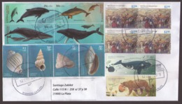 Argentina - 2018 - Lettre - Mammifères Marins - Mammifères - Coquillages - Lettres & Documents