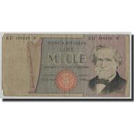 Billet, Italie, 1000 Lire, 1981, 1981-05-30, KM:101h, B - [ 2] 1946-… : République