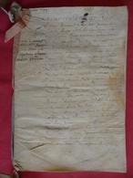 1649 - Contrat De Mariage - Manuscrit Sur Peau - 6 Pages - Manuscripts