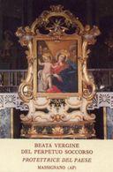 Massignano AP - Santino BEATA VERGINE DEL PERPETUO SOCCORSO - N91 - Religione & Esoterismo