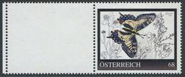 ÖSTERREICH / 8125184 / Schmetterling 12 / Postfrisch / ** / MNH - Personalisierte Briefmarken