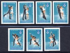 HUNGARY 1983 Winter Olympics: Sarajevo Imperforate MNH / **.  Michel 3652-58B - Hungary