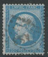 Lot N°40529  N°22, Oblit Losange AS 3 De PARIS - 1862 Napoleon III