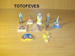 SERIE COMPLETE  EGYPTE AU FIL DU NIL  DE  9   FEVES N°176 - Other