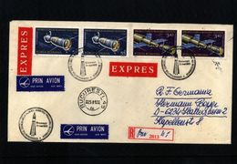 Romania / Rumaenien 1981 Space / Raumfahrt Interesting Cover - FDC & Gelegenheidsboekjes