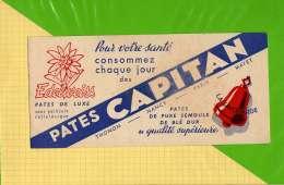 BUVARD & Blotting Paper  : Pates CAPITAN  Edelweiss Cloche La Savoyarde - Potages & Sauces