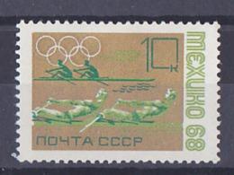 URSS Jeux Olympique De Mexico 1968 Timbre Y&T N° 3390 MNH ** Depart à 50% - Sommer 1968: Mexico