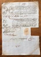 MONTE E BANCO DEI POVERI IN NAPOLI - FEDE DI CREDITO 1768 CON SIGILLO - Azioni & Titoli