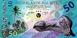 Superbe NEDERLANDS MAURITIUS 50 Gulden 2016  POLYMER UNC - Maurice