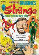 Strange SPECIAL ORIGINES N°154 Bis - LUG 1984 + Fiches Super-héros TB - Strange