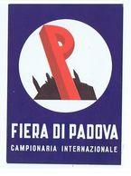 PADOVA - FIERA CAMPIONARIA INTERNAZIONALE - 14 GIUGNO 1959 ( 716 - Padova (Padua)