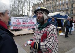 - 31 - Toulouse (31) - Carte Postale Moderne - Jamais Diffusée - Métier - Manifestant - Sdf - Toulouse
