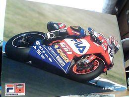 2 Pz MOTO GP CORSA PILOTA 55 REGIS LACONI DUCATI 999 MAXI CARD 21X15 N2006 GN21557 - Motociclismo