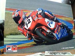 MOTO GP CORSA PILOTA 52 JAMES TOSELAND DUCATI 999 MAXI CARD 21X15 N2006 GN21558 - Motociclismo