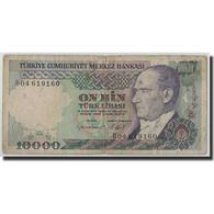 Billet, Turquie, 10,000 Lira, 1970, KM:199, B - Turkey