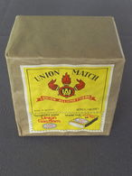 Paquet De 10 Boîtes D'allumettes (10 Dozen Lucifers) Union Match + Union Gasflam (Jamais Ouvert) - Boites D'allumettes