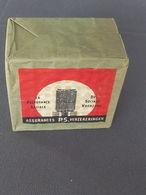 Paquet De 10 Boîtes D'allumettes (10 Dozen Lucifers) Assurances PS (Prévoyance Sociale - De Sociale Voorzorg) - Boites D'allumettes