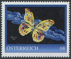 ÖSTERREICH / 8124800 / Schmetterling 10 / Postfrisch / ** / MNH - Personalisierte Briefmarken