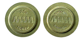 04156 GETTONE TOKEN JETON FICHA M.A.M. 20P EUROCOIN - Unclassified