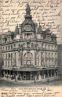 Anvers - Grand Hôtel Metropole (Prop. Léon Schoune) Animée, 1907) - Antwerpen