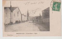 Meurthe Et Moselle REGNIEVILLE Grande Route Eglise - Altri Comuni