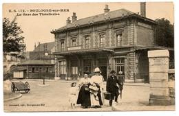 (62) BOULOGNE SUR MER: La Gare Des Tintelleries - Boulogne Sur Mer