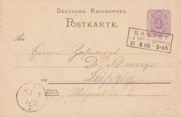 DR Ganzsache R3 Bastei I. D. Sächs. Schweiz 21.6.89 - Deutschland