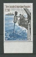TAAF 1994 N° 187 ** Neuf MNH Superbe Cote 2,10 € Carrotage  Bateaux Boats Ships  Marion Dufresne Transports - Terres Australes Et Antarctiques Françaises (TAAF)