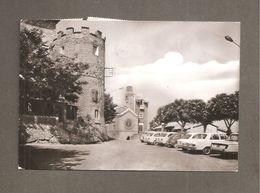COLLALTO SABINO PIAZZA GUGLIELMO MARCONI - AUTO D'EPOCA  CARTOLINA VIAGGIATA 1975 AFFRANCATURA MULTIPLA - Altre Città