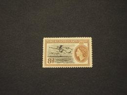 TURKS CAICOS - 1955 VOLO UCCELLI  8 P. - NUOVO(+) - Turks E Caicos