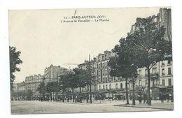 75/ PARIS.. 75016 PARIS XVIe.. PARIS-AUTEUIL. L'Avenue De Versailles. Le Marché - Arrondissement: 16