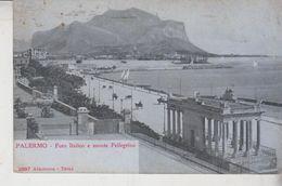PALERMO Foro Italico E Monte Pellegrino No Vg - Palermo