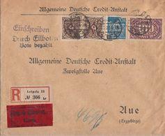 DR R-Eilbote-Brief Mif Minr.2x 208,219,239 Leipzig 27.2.23 - Allemagne