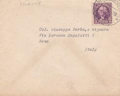 """CARD PIROSCAFO """" REX"""" BUSTA CON  ANNULLO""""NEW YORK-GENOVA"""" 4-12-40 SU BOLLO AMERICANO 2 SCANNER     -V-2-0882-27866-867 - Paquebote"""