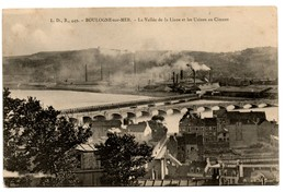 La Vallée De La Liane Et Les Usines Au Ciment - Boulogne Sur Mer
