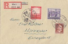 DR R-Brief Mif Minr.792,804,805 SST Wien 6. Reichsbundesfest 5.10.41 - Briefe U. Dokumente