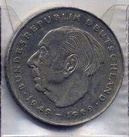 2 Deutsche Mark 1986 - F - [ 7] 1949-… : RFA - Rep. Fed. Tedesca
