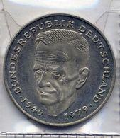 2 Deutsche Mark 1992 - F - [ 7] 1949-… : RFA - Rép. Féd. D'Allemagne