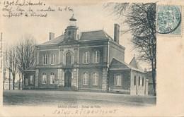 02) SAINS - RICHAUMONT : Hôtel De Ville (1905) - Otros Municipios