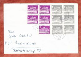Brief, MiF Brandenburger Tor In Einheiten, Bargteheide Nach Neumuenster 1965 (46580) - Berlin (West)