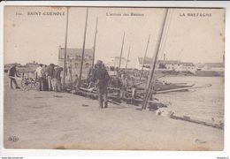 Au Plus Rapide Saint Guénolé Finistère L'arrivée Des Bateaux Non Circulé - Sonstige Gemeinden