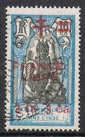 INDE N°190  FRANCE LIBRE - Used Stamps