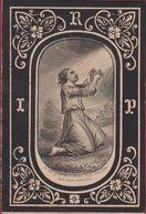 Arthur De Thysebaert Bruxelles Gand 1872 Druk. C. Van Loo Smet De Thysebaert Doodsprentje Image Mortuaire - Santini