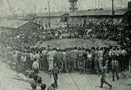 34) AGDE - Camp D'Agde - Spétacle Organisé à L'intérieur Du Camp ( Exode Espagnole) - Agde