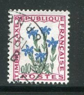 FRANCE- Taxe Y&T N°96- Oblitéré - Plants
